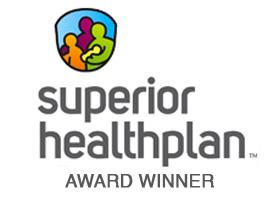 superior healthplan award winner